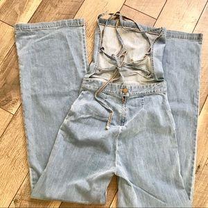 615e54d690bb stoned immaculate Pants - Jean genie denim jumpsuit Filmore wash